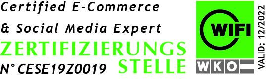 certified ecommerce und social media expert