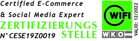 certified ecommerce und social media expert